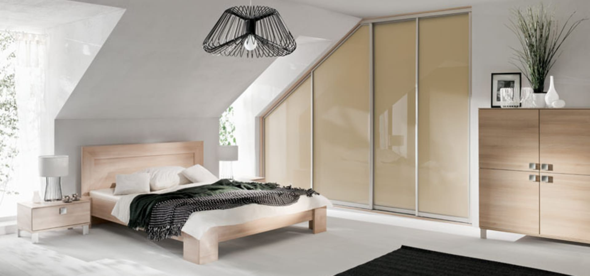 Sliding wardrobe world design