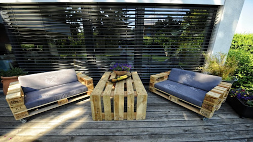 43 pallet ideas that you can directly copy
