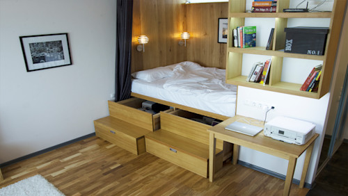 16 clever space-saving solutions for your small rooms