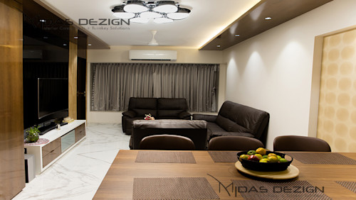 Luxurious Interiors for an Apartment Next to Amitabh Bachchan's House in Mumbai