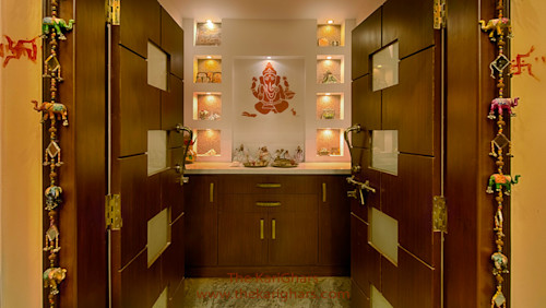 10 Innovative puja room designs that are on trend