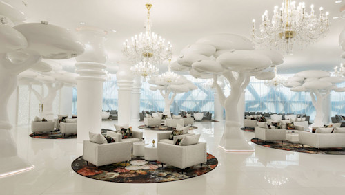 The lavish luxury of the Mondrian Doha Hotel