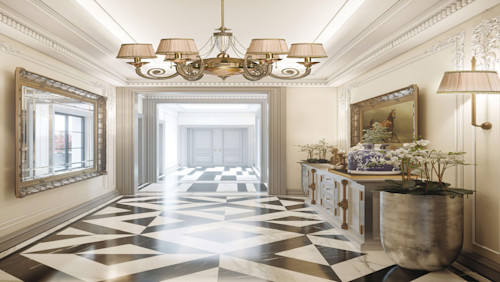 First-class hallway lighting designs by Luxury Chandelier