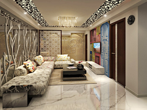 . 10 beautiful pictures of small drawing rooms for Indian homes