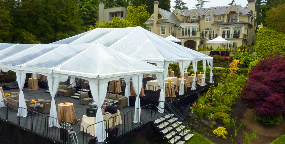 Tentickle Tents – To ensure that things run smoothly, this company provide a wide range of wedding tents that you can either hire or buy.