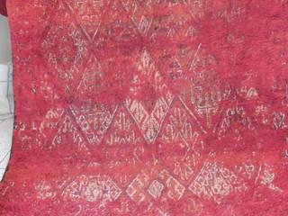 Vintage berber moroccan carpet:   by BOHOZOO