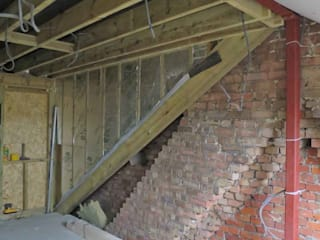 L-Shaped Dormer Loft Conversion NR2 3NW من Paul D'Amico Remodels حداثي
