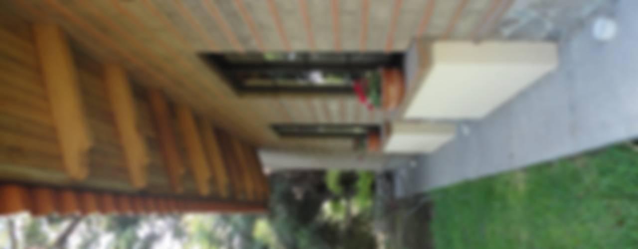 CASA COMALA: Casas de estilo rural por ARQUITECTOS BARRERA OSORIO