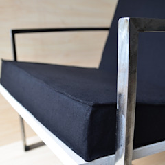 Ż Pracownia Living roomSofas & armchairs Iron/Steel Black