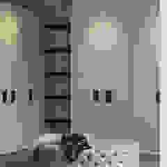 Hampstead Home, Bold & Bright Modern dressing room by Studio Mark Ruthven Modern
