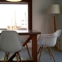 Reforma y ampliación Casa Bergallo: Comedores de estilo moderno por DDARQ3D
