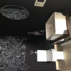 Estilo Pilar 2015: Baños de estilo ecléctico por Azora Estudio