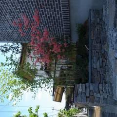 小さな家: Wats建築デザインが手掛けた庭です。