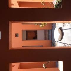 CASA DE CAMPO, H. ZITACUARO, MICHOACAN: Terrazas de estilo  por ECLIPSE ARQUITECTOS SA de cv