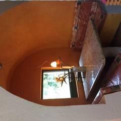 CASA DE CAMPO, H. ZITACUARO, MICHOACAN: Muebles de cocinas de estilo  por ECLIPSE ARQUITECTOS SA de cv