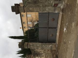 Portail métallique: Jardin de style  par BATIR AU NATUREL