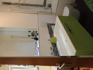 VORHER-NACHHER: moderne Badezimmer von Bad Campioni