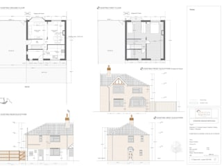 Single Story Rear Extension:   by Horizon Design Services Ltd