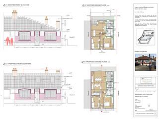 Rear extension and loft conversion:   by Horizon Design Services Ltd