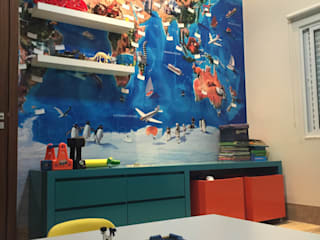 Nursery/kid's room by au cubo arquitetura