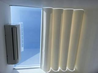 Tetos vidro com proteção solar Espaços comerciais modernos por Ateliê Lochetti Moderno