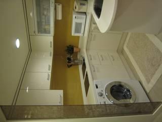四米2 現代廚房設計點子、靈感&圖片 根據 Joy Full Interior Designer 佐輔室內裝修 現代風