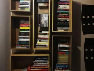 Biblioteca Modular:  de estilo  por Spazio Diseño y Decoración
