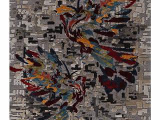 PIXEL WINGS:   by STEPEVI - Rug & Carpet Refined Luxury