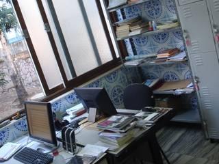 Biblioteca - EBP-MG Escolas modernas por Rafael Castro Arquitetura Moderno