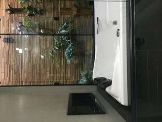 sala de banho: Banheiros  por ANE DE CONTO  arq. + interiores,