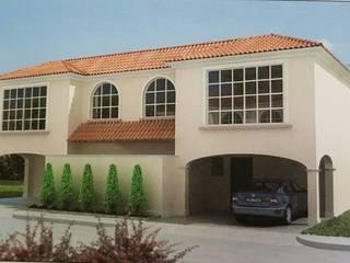 Casa pequeña en Toluca Casas modernas de Miguel Arce Moderno