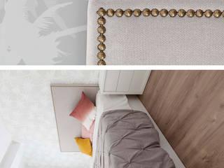 Vivienda en Paseo de la Florida, Madrid Dormitorios de estilo moderno de Interioristas Dimeic, diseñadores y decoradores en Madrid Moderno
