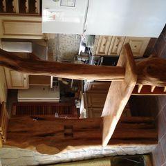 barra rustica Enrique Ramirez Muebles artesanales CocinasMuebles de cocina Madera maciza