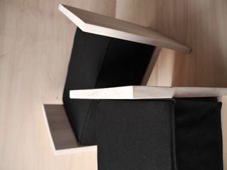 Ż Pracownia Living roomStools & chairs Gỗ Black
