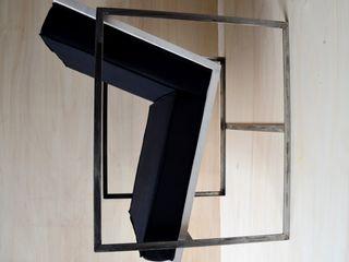 Ż Pracownia Living roomSofas & armchairs Sắt / thép Black