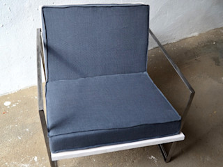 Ż Pracownia Living roomSofas & armchairs Sắt / thép Grey