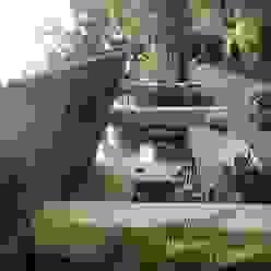 CASA COMALA ARQUITECTOS BARRERA OSORIO Balcones y terrazas rurales