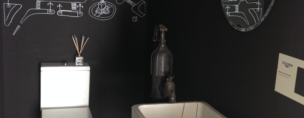 Projekty,  Łazienka zaprojektowane przez Azora Estudio