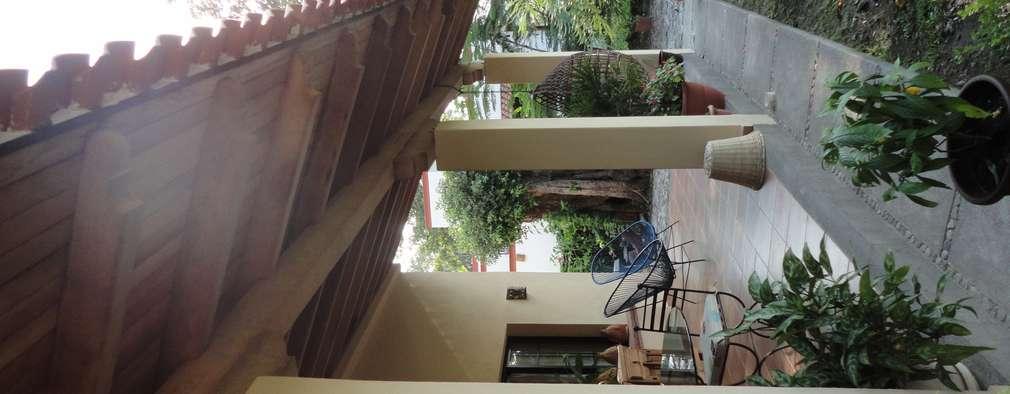 Terrazas  de estilo  por ARQUITECTOS BARRERA OSORIO