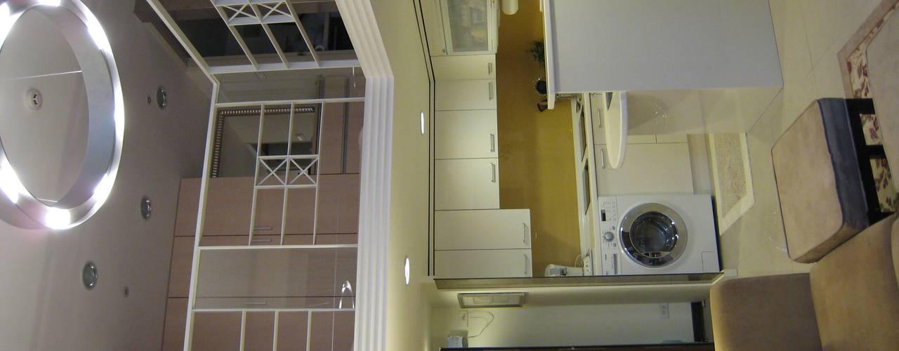 四米2:  廚房 by Joy Full Interior Designer 佐輔室內裝修