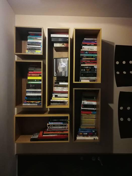 Biblioteca Modular de Spazio Diseño y Decoración Moderno Aglomerado