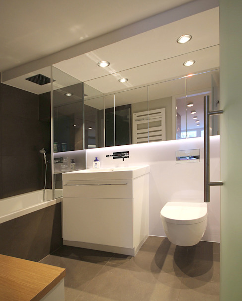 Badezimmer Moderne Badezimmer von eswerderaum Modern
