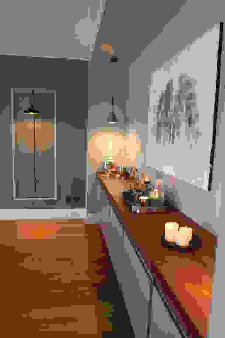 Color combinations Esra Kazmirci Mimarlik Modern dining room Grey