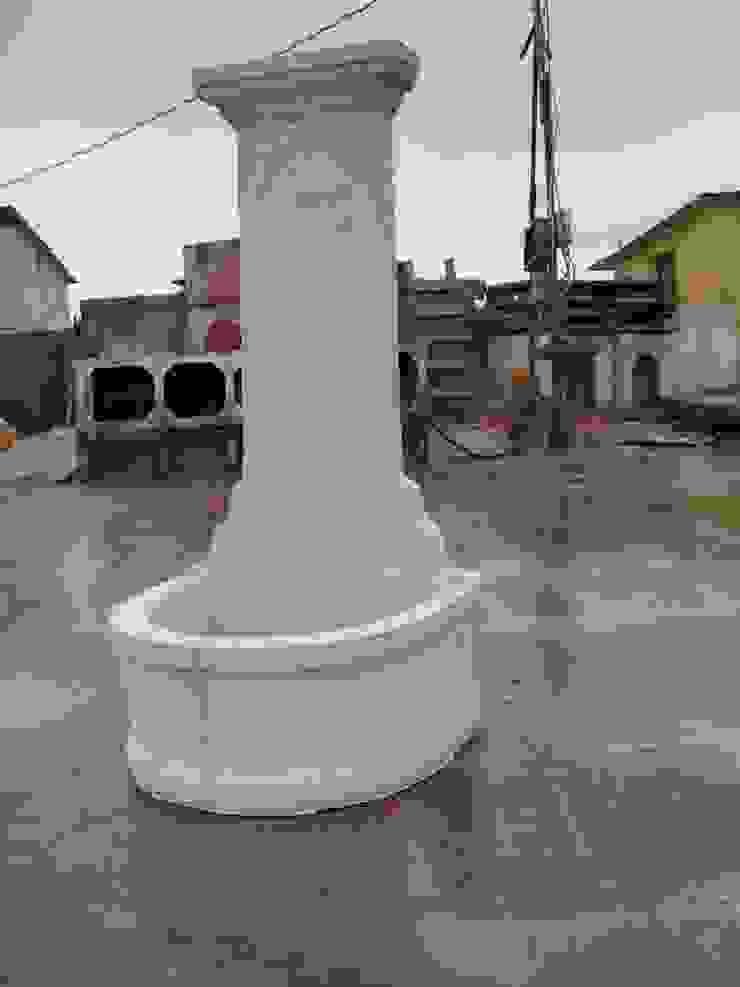 de estilo industrial por Cevher Üretim Peyzaj İnşaat ve Gıda Ltd. Şti., Industrial Concreto reforzado