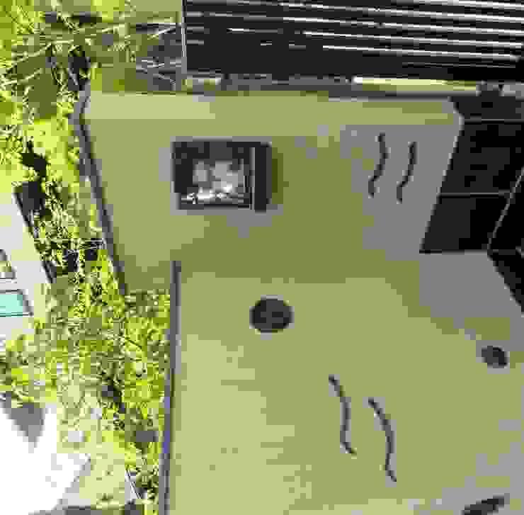 瓦の照明 オリジナルな 庭 の 木村博明 株式会社木村グリーンガーデナー オリジナル