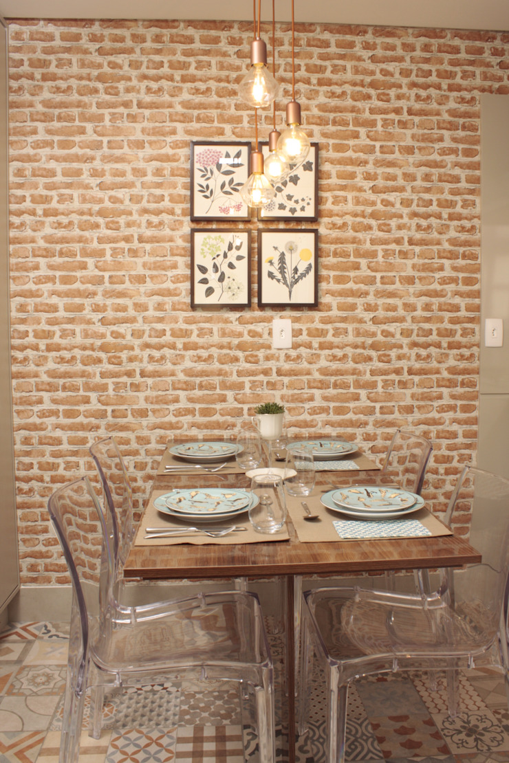 Cocinas de estilo mediterráneo de Fernanda Moreira - DESIGN DE INTERIORES Mediterráneo