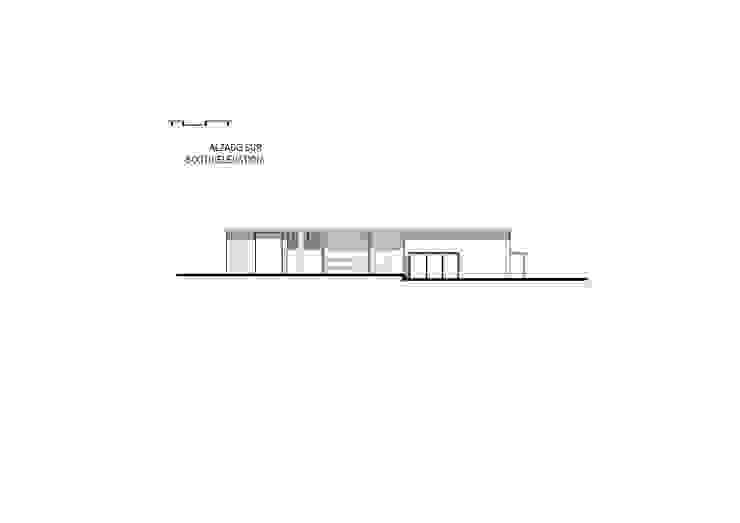 Casa Garcia de ARQUITECTOS URBANISTAS A+U Moderno