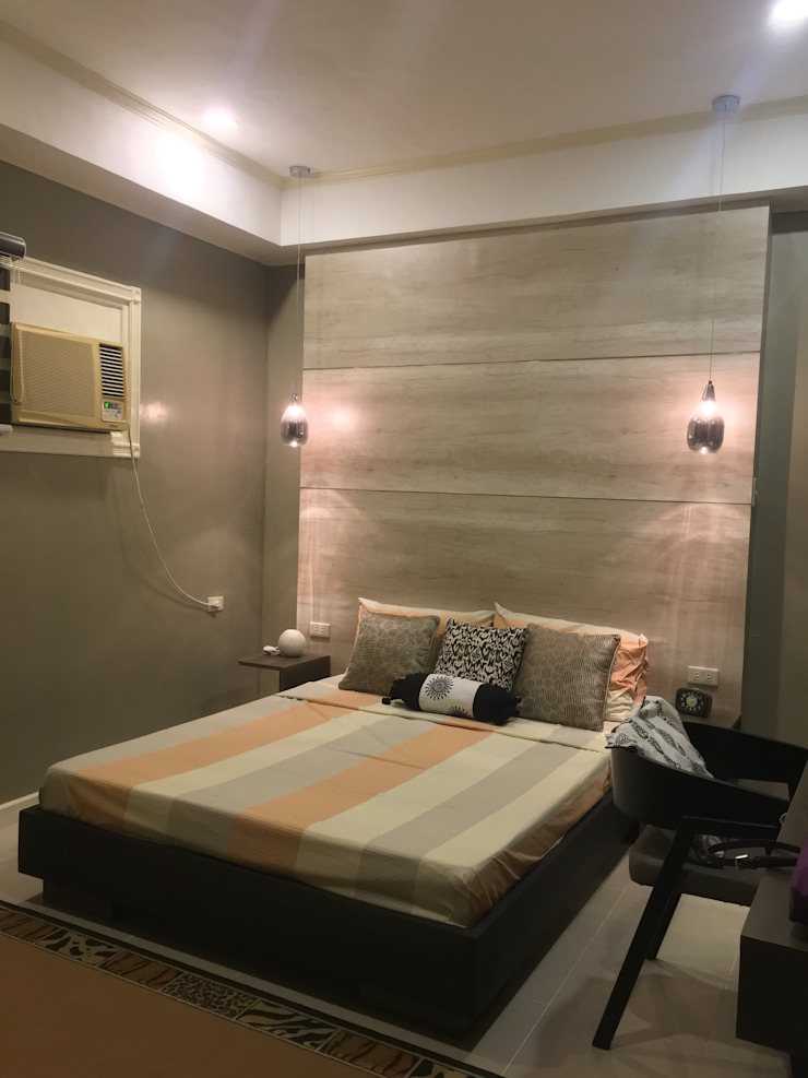 2015 PROJECTS Modern style bedroom by MKC DESIGN Modern