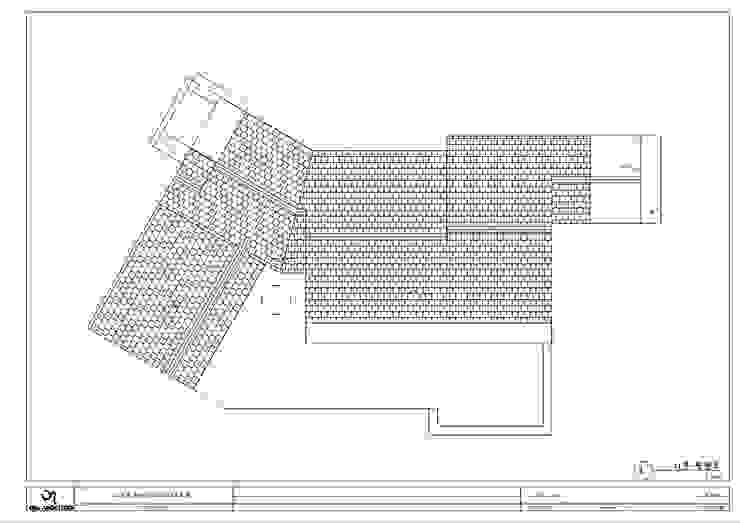 양평 서종면 정배리 지붕 평면도: 위드하임의 현대 ,모던