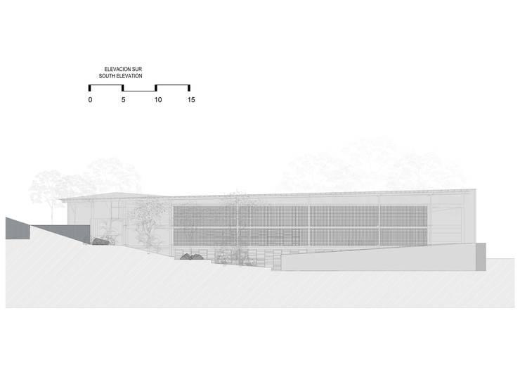Parque Educativo Tamesis:  de estilo  por ARQUITECTOS URBANISTAS A+U, Moderno